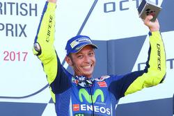 Podium : le troisième Valentino Rossi, Yamaha Factory Racing