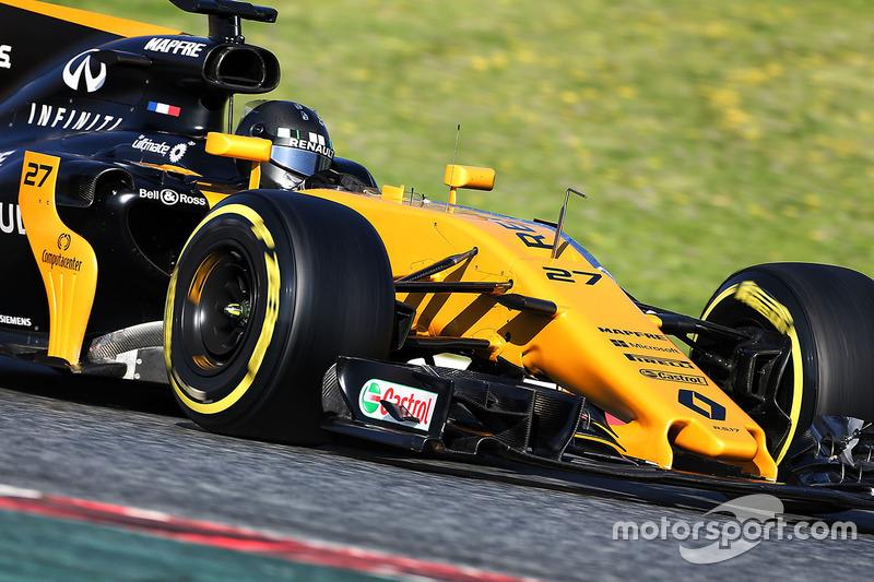 #27 Nico Hulkenberg, Renault Sport F1 Team RS17