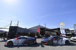 #43 RealTime Racing Acura NSX GT3: Ryan Eversley, #93 RealTime Racing Acura NSX GT3: Peter Kox