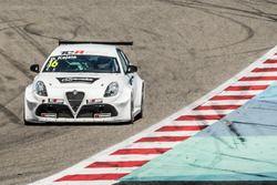 Davit Kajaia, Mulsanne Racing, Alfa Romeo Giulietta TCR