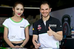 Roman Ramos, Team Go Eleven with a lovely grid girl