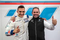 Alex Palou, Teo Martin Motorsport, auteur de la pole position