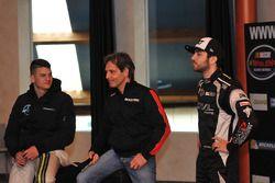 Gianmarco Ercoli, Alex Caffi and Alon Day