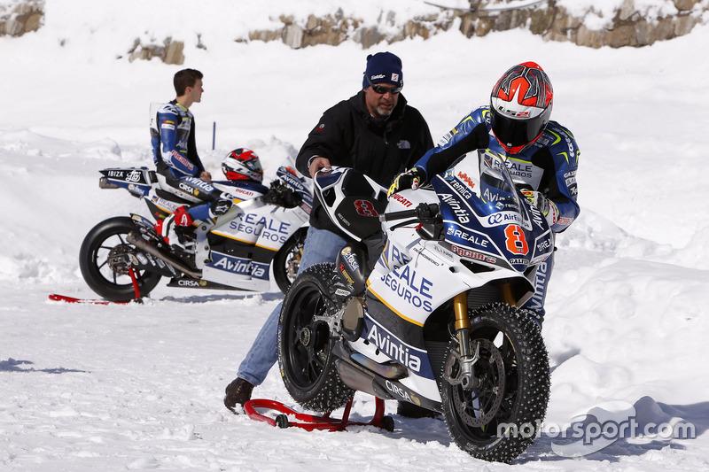 Loris Baz, Avintia Racing MotoGP y Emilio Zamora