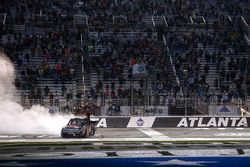 Christopher Bell, Kyle Busch Motorsports Toyota celebrates his win
