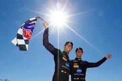 Ganadores de la carrera Jordan Taylor, Ricky Taylor, Wayne Taylor Racing
