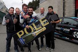 Polesitter: Stefano Comini, Comtoyou Racing, Audi RS3 LMS
