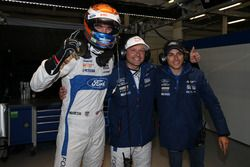 Pole position GTE-Pro for #67 Ford Chip Ganassi Racing Ford GT: Harry Tincknell, Andy Priaulx, Pipo