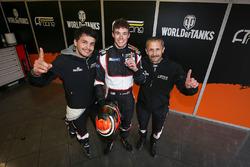 LMP3-Polesitter: Alexander Talkanitsa Sr., Alexander Talkanitsa Jr., Mikkel Jensen, AT Racing