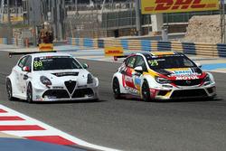 Michela Cerruti, GE-Force, Alfa Romeo Giulietta TCR;, Pierre-Yves Corthals, DG Sport Compétition, Op