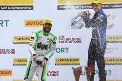 Podium: 1. Rob Austin, Handy Motorsport, Toyota Avensis; 2. Aiden Moffat, Laser Tools Racing, Merced