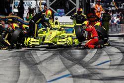 Arrêt au stand de Simon Pagenaud, Team Penske Chevrolet