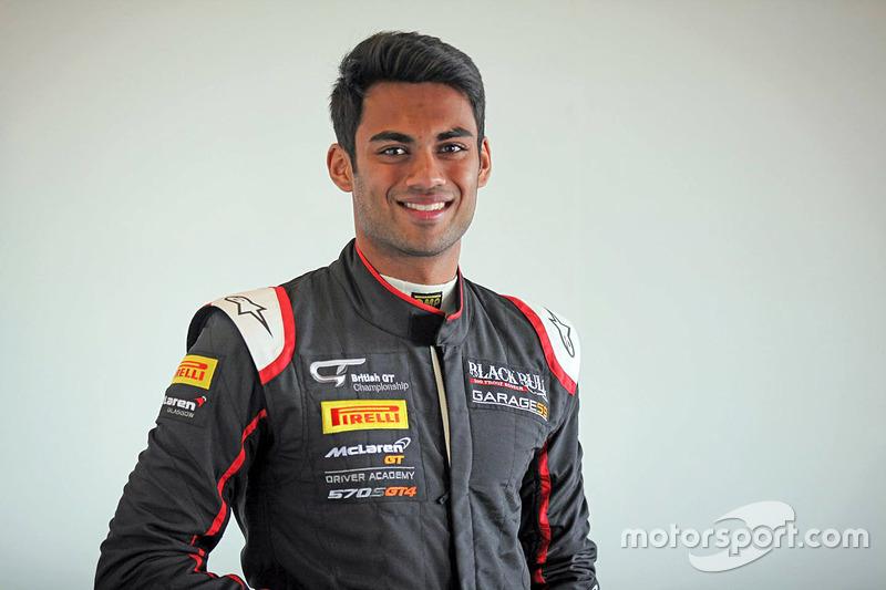 Akhil Rabindra (British GT Spa-Francorchamps)