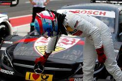 Le poleman Robert Wickens, Mercedes-AMG Team HWA, Mercedes-AMG C63 DTM