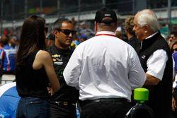 Juan Pablo Montoya, Team Penske Chevrolet, Chip Ganassi and Roger Penske