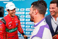 Polesitter Lucas di Grassi, ABT Schaeffler Audi Sport, mit Jose Maria Lopez, DS Virgin Racing