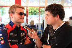 Pierre Nicolet, Eurasia Motorsport with Guillaume Nedelec, Motorsport.com Journalist