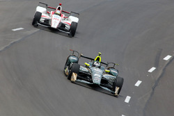 Ed Carpenter, Ed Carpenter Racing Chevrolet, Tristan Vautier, Dale Coyne Racing Honda