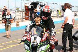 Jonathan Rea, Kawasaki Racing, vainqueur de la Course 2