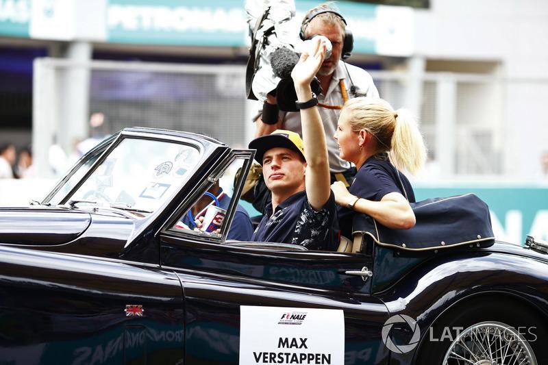 Max Verstappen, Red Bull Racing, pilotlar geçit töreni
