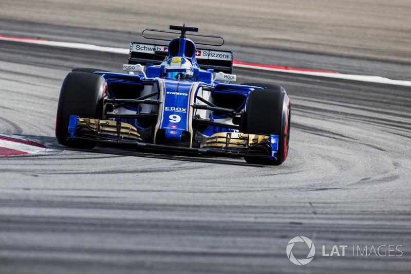 18th : Marcus Ericsson (Sauber)
