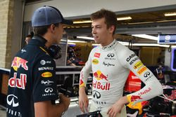 Daniil Kvyat, Red Bull Racing e Pierre Gasly