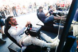 Jose Maria Lopez, DS Virgin Racing, lors de l'eRace