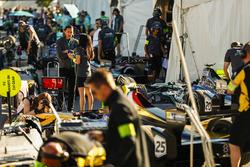 James Barclay, Jaguar Racing, ai box