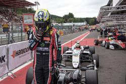 second place Joel Eriksson, Motopark Dallara F317 - Volkswagen