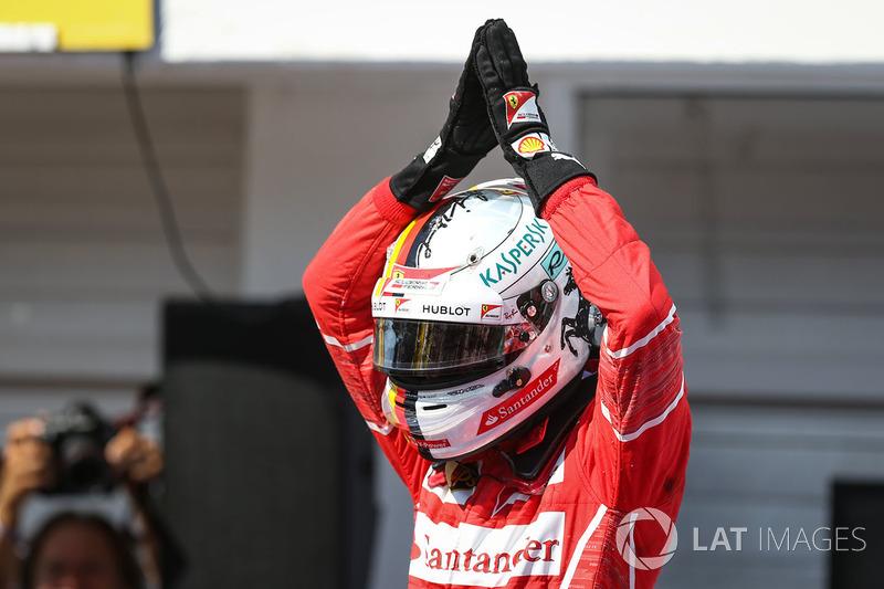 11º GP de Hungría 2017 - Pole para Sebastian Vettel, Ferrari