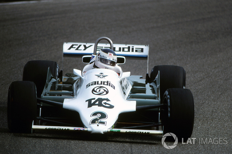 1981 : Williams-Cosworth FW07C