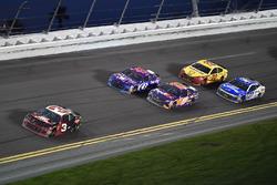 Austin Dillon, Richard Childress Racing Chevrolet Camaro, Darrell Wallace Jr., Richard Petty Motorsp