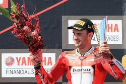 Podio: il terzo classificato Xavi Fores, Barni Racing Team