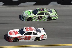 Christopher Bell, Joe Gibbs Racing, Rheem Toyota Camry, Daniel Suarez, Joe Gibbs Racing, Interstate