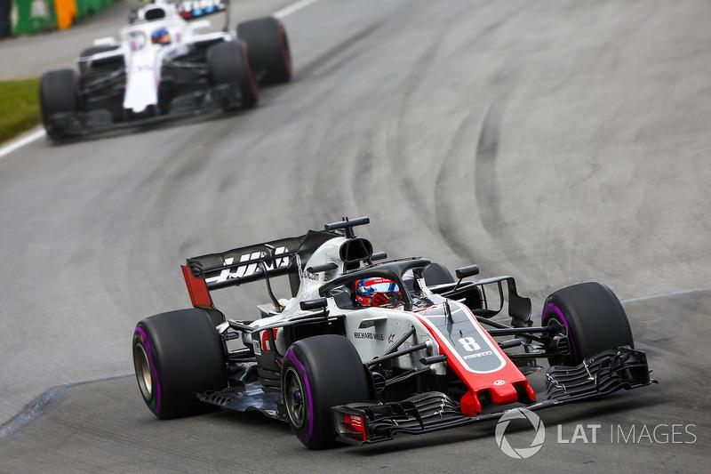 Romain Grosjean, twaalfde plaats