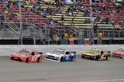 Kyle Busch, Joe Gibbs Racing, Toyota Camry Maltesers, Cole Custer, Stewart-Haas Racing, Ford Mustang
