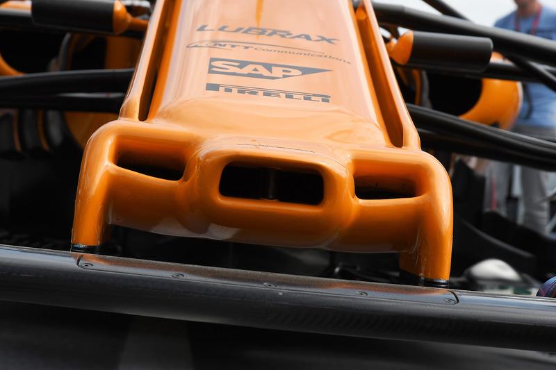 McLaren MCL33 nariz