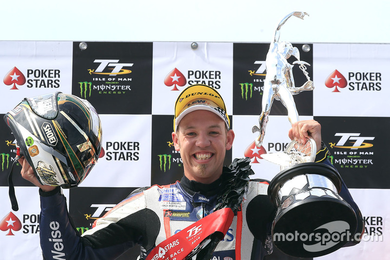 Winner Peter Hickman