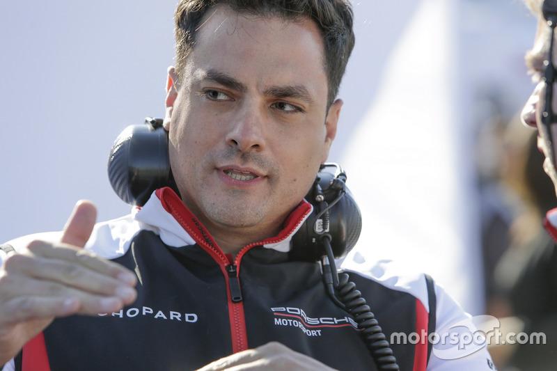 Stephen Mitas, directeur du projet technique, Porsche Team