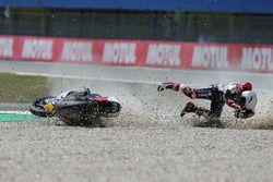 Crash of Romano Fenati, Marinelli Rivacold Snipers Team