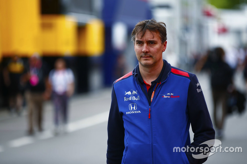 James Key, director técnico de Toro Rosso