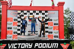 #1 Blackdog Speed Shop Chevrolet Camaro GT4: Lawson Aschenbach, #55 PF Racing Ford Mustang GT4: Jade Buford, #72 Robinson Racing Mercedes-AMG GT4: Shane Lewis