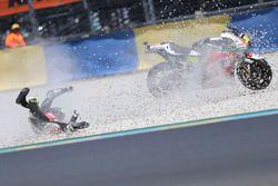 Chute de Cal Crutchlow, Team LCR Honda