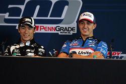 Takuma Sato, Rahal Letterman Lanigan Racing Honda, Graham Rahal, Rahal Letterman Lanigan Racing Honda