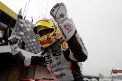 Race winner Mikel Azcona, PCR Sport Cupra TCR