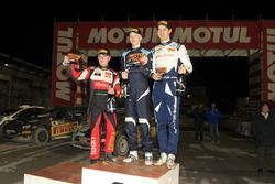 Memorial Bettega, Trofeo Pucci Grossi : le vainqueur Kalle Rovanpera, le deuxième Oliver Solberg, le troisième Teemu Suninen