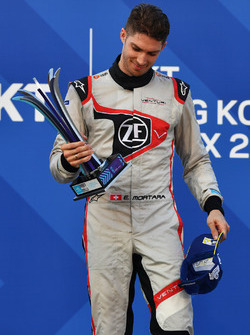 Podium: third place Edoardo Mortara, Venturi Formula E