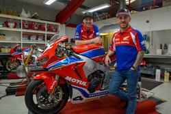 Ian Hutchinson and Lee Johnston, Honda Racing