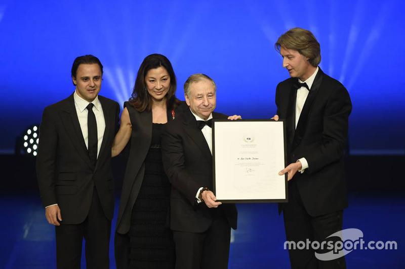 Felipe Massa, Jean Todt, Jean Charles Decaux