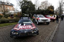 Исторические автомобили ралли «Дакар»